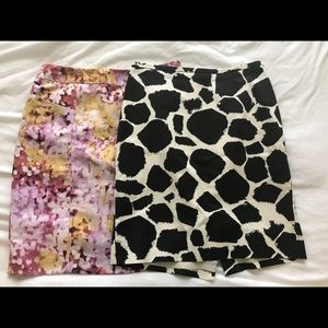 Set of 2 Loft work skirts